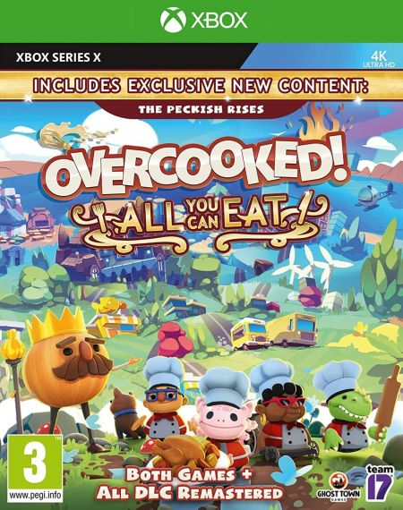 Echanger le jeu Overcooked All You Can Eat sur XBOX SERIES X
