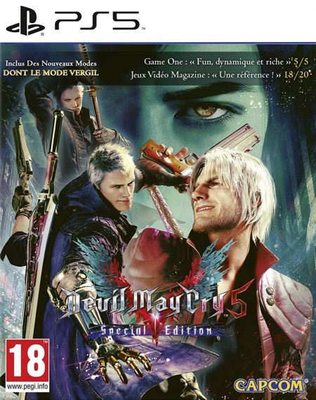 Echanger le jeu Devil May Cry 5 Special Edition sur PS5