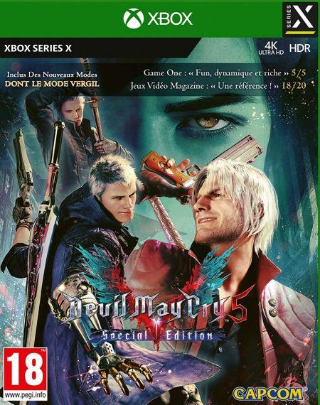 Echanger le jeu Devil May Cry 5 Special Edition sur XBOX SERIES X