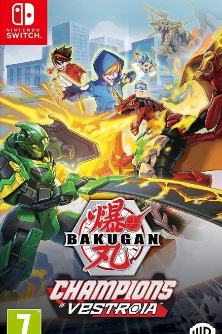 Echanger le jeu Bakugan - Champions of Vestroia sur Switch