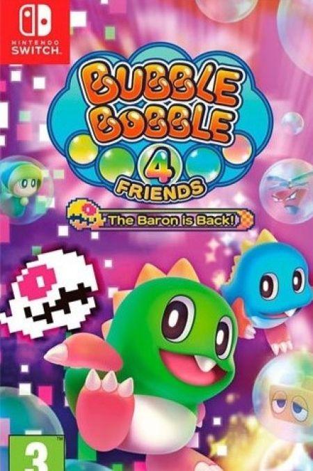 Echanger le jeu Bubble Bobble 4 Friends - The Baron is Back! sur Switch