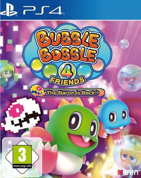 Echanger le jeu Bubble Bobble 4 Friends - The Baron is Back! sur PS4