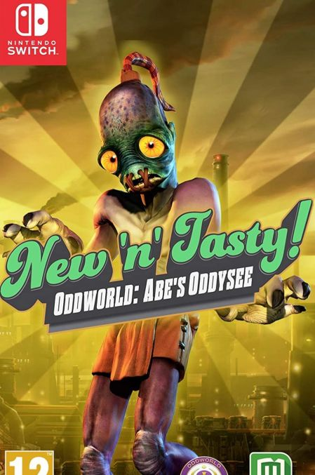 Echanger le jeu Oddworld: Abe's Oddysee - New'n'Tasty! sur Switch