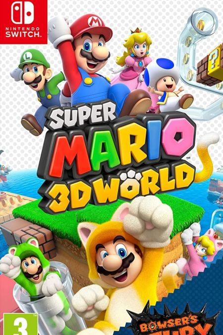 Echanger le jeu Super Mario 3D World +Bowser's Fury sur Switch
