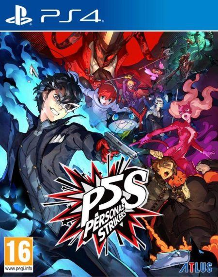 Echanger le jeu Persona 5 Strikers sur PS4