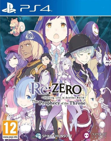 Echanger le jeu Re: Zero - The Prophecy of The Throne sur PS4