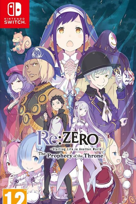 Echanger le jeu Re: Zero - The Prophecy of The Throne sur Switch