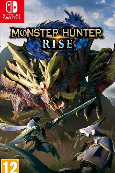 Echanger le jeu Monster Hunter Rise sur Switch