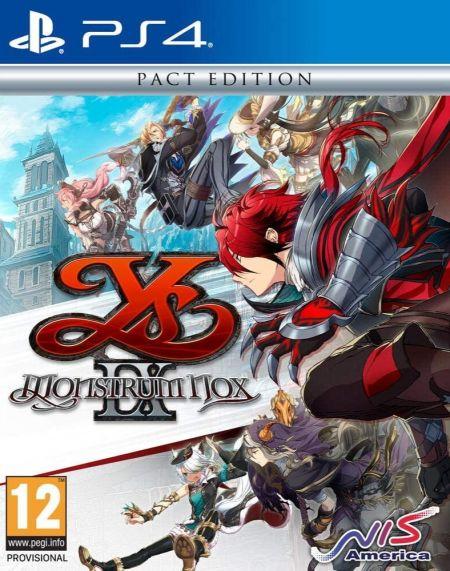 Echanger le jeu YS IX: Monstrum Nox sur PS4