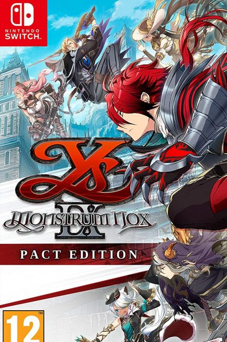 Echanger le jeu YS IX: Monstrum Nox sur Switch