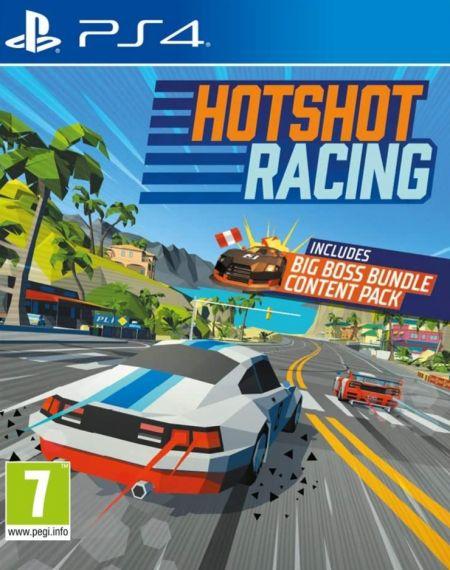 Echanger le jeu Hotshot Racing sur PS4