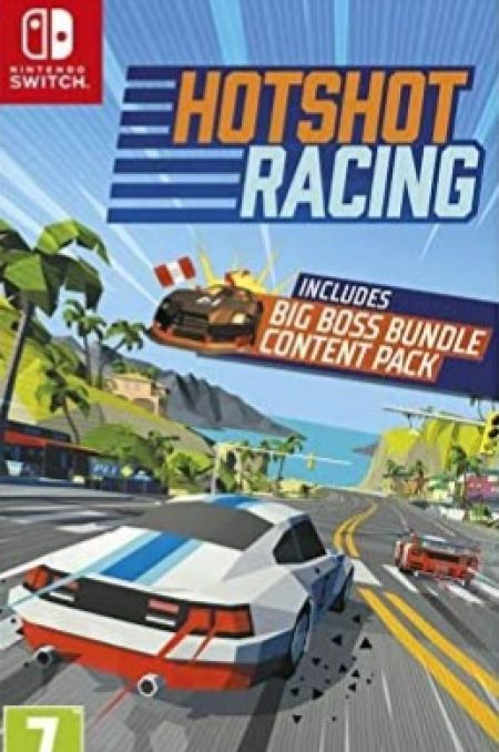 Echanger le jeu Hotshot Racing sur Switch