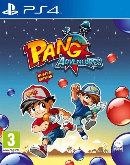 Echanger le jeu Pang Adventures: Buster Edition sur PS4