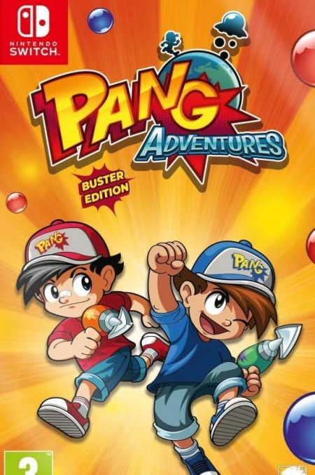 Echanger le jeu Pang Adventures: Buster Edition sur Switch