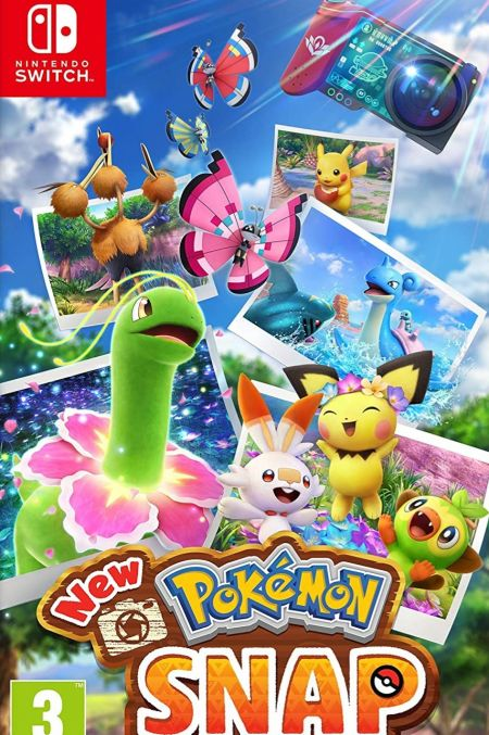 Echanger le jeu New Pokemon Snap sur Switch