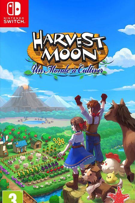 Echanger le jeu Harvest Moon : Un Monde a Cultiver sur Switch