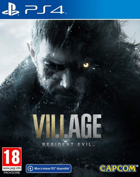 Echanger le jeu Resident Evil Village sur PS4