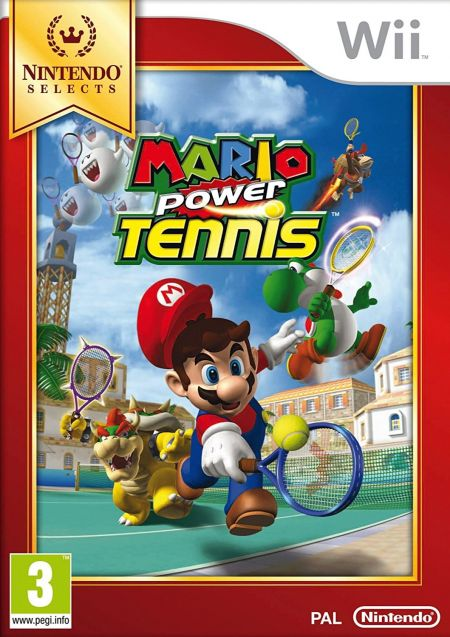 Echanger le jeu Mario Power Tennis sur Wii