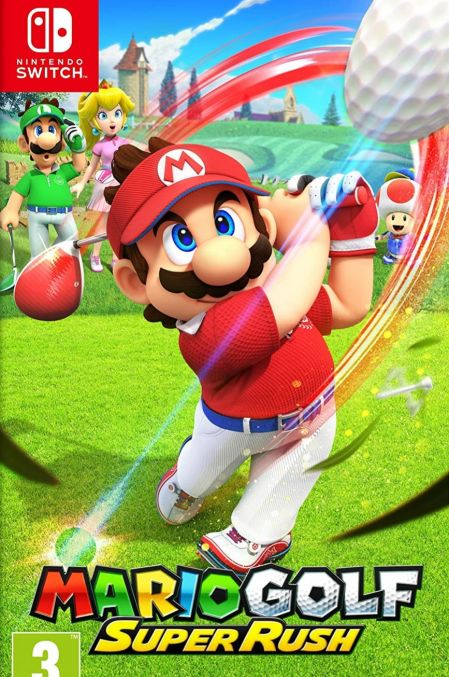Echanger le jeu Mario Golf: Super Rush sur Switch