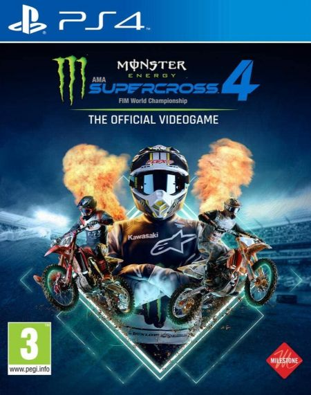 Echanger le jeu Monster Energy Supercross 4 - The Official Videogame sur PS4