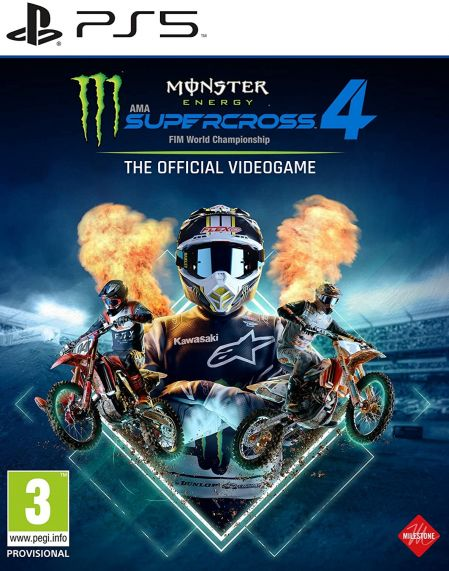 Echanger le jeu Monster Energy Supercross 4 - The Official Videogame sur PS5
