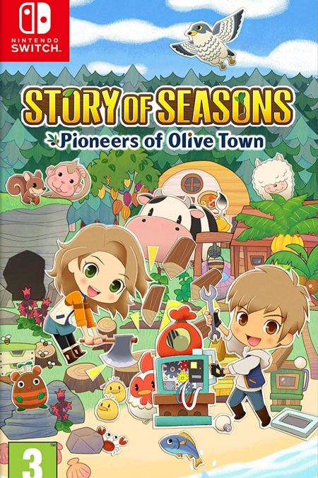 Echanger le jeu Story of Seasons Pioneers of Olive Town sur Switch
