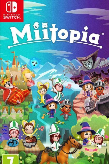 Echanger le jeu Miitopia sur Switch
