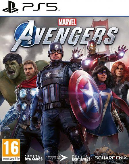 Echanger le jeu Marvel's Avengers sur PS5
