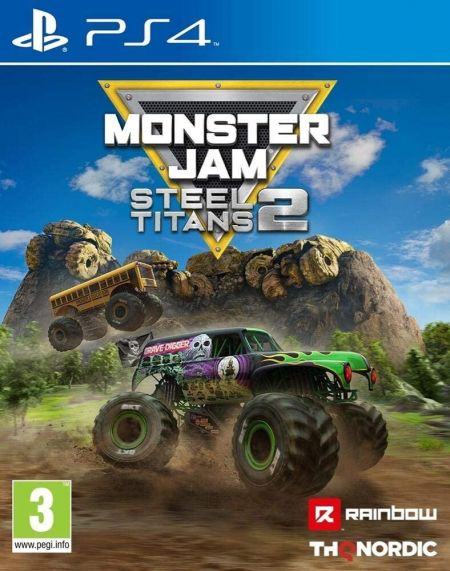 Echanger le jeu Monster Jam Steel Titans 2 sur PS4