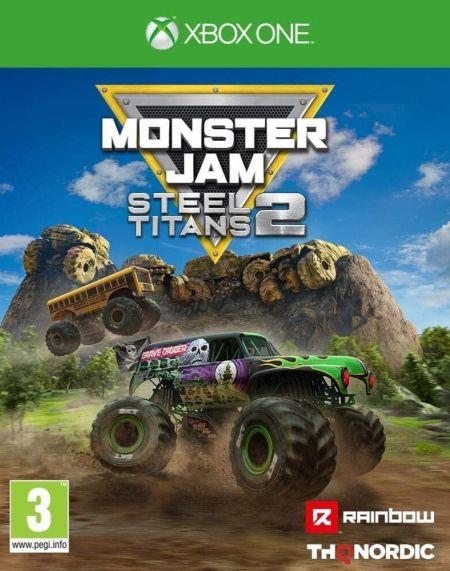 Echanger le jeu Monster Jam Steel Titans 2 sur Xbox One
