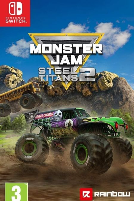 Echanger le jeu Monster Jam Steel Titans 2 sur Switch