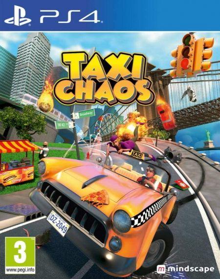 Echanger le jeu Taxi Chaos sur PS4