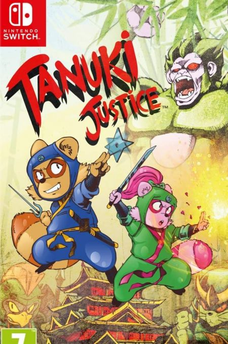 Echanger le jeu Tanuki's Justice sur Switch
