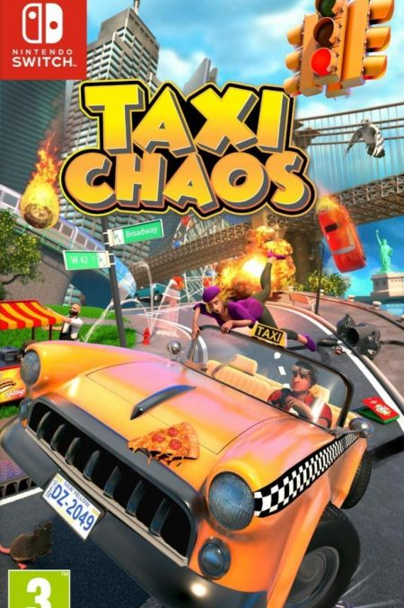 Echanger le jeu Taxi Chaos sur Switch