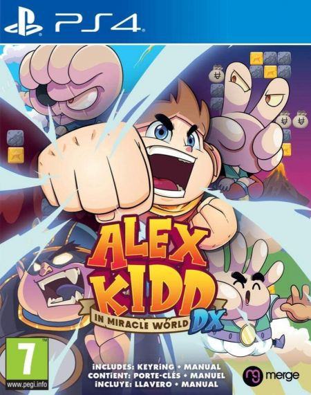 Echanger le jeu Alex Kidd in Miracle World DX sur PS4