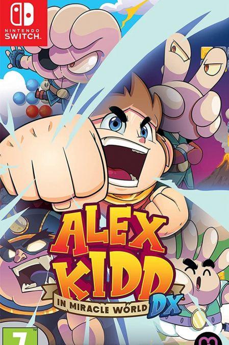 Echanger le jeu Alex Kidd in Miracle World DX sur Switch
