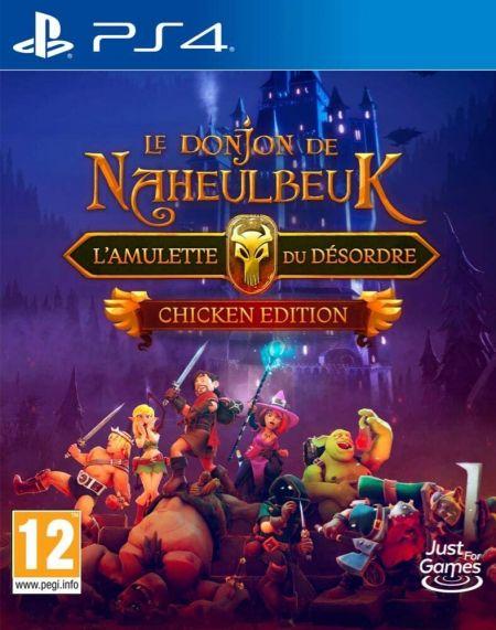 Echanger le jeu Le Donjon de Naheulbeuk - L'Amulette du Desordre Chicken Edition sur PS4