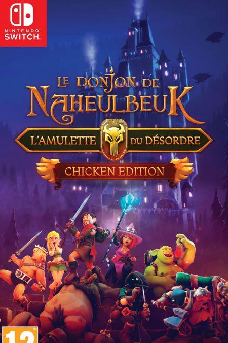 Echanger le jeu Le Donjon de Naheulbeuk - L'Amulette du Desordre Chicken Edition sur Switch
