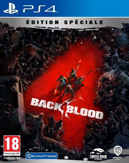 Echanger le jeu Back 4 Blood sur PS4