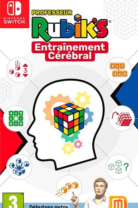 Echanger le jeu Professeur Rubik's Entrainement Cerebral sur Switch