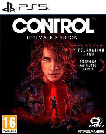 Echanger le jeu Control sur PS5