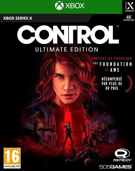 Echanger le jeu Control sur XBOX SERIES X