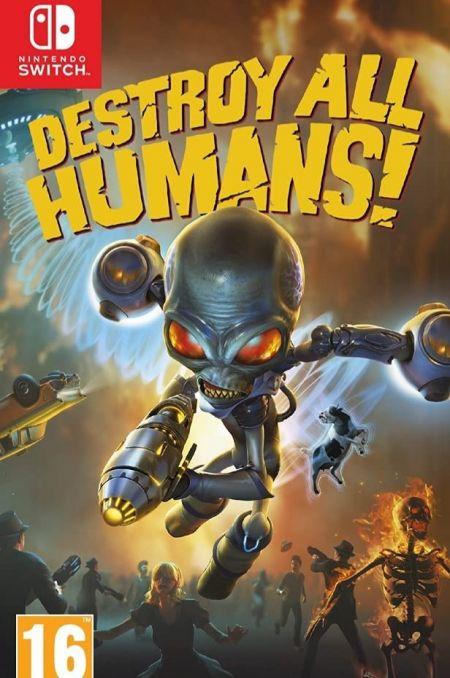 Echanger le jeu Destroy All Humans! sur Switch