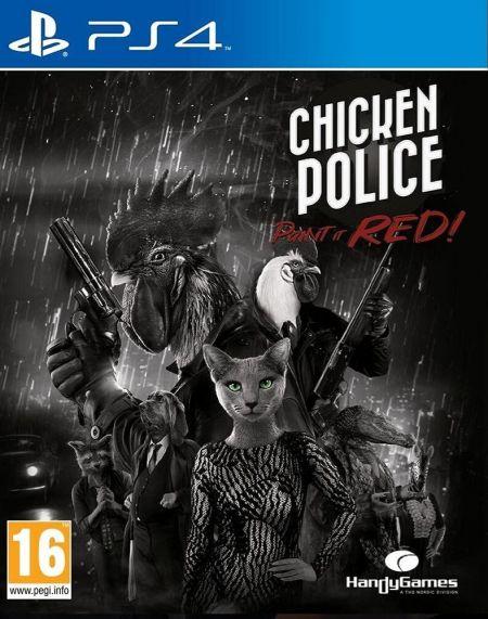 Echanger le jeu Chicken Police: Paint it Red! sur PS4
