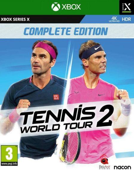Echanger le jeu Tennis World Tour 2 sur XBOX SERIES X