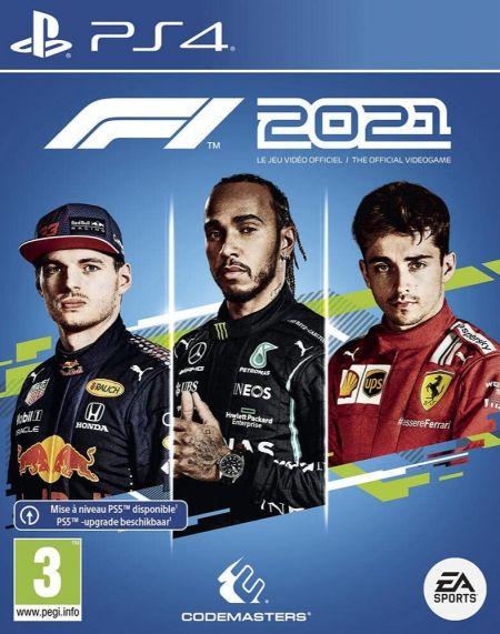Echanger le jeu F1 2021 sur PS4