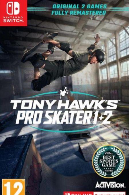 Echanger le jeu Tony Hawk's Pro Skater 1+2 sur Switch