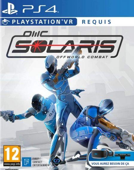 Echanger le jeu Solaris Offworld Combat (PS-VR Requis / PSPlus Requis) sur PS4