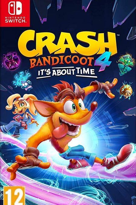 Echanger le jeu Crash Bandicoot 4 : It's About Time sur Switch