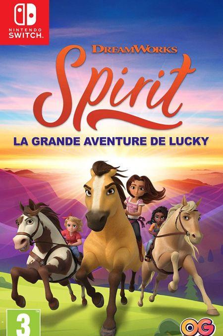 Echanger le jeu Spirit - La Grande Aventure de Lucky sur Switch